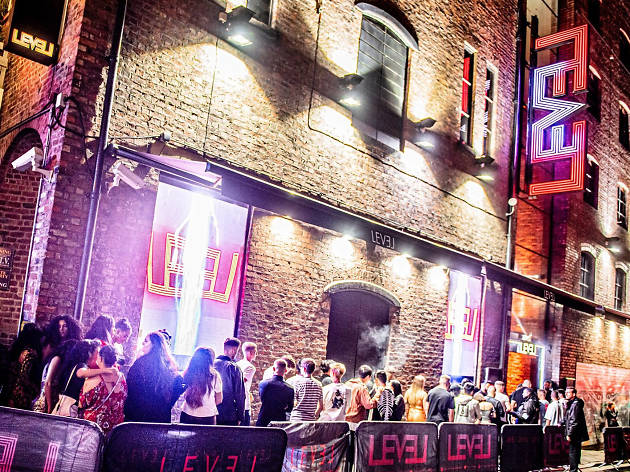 The exterior of Level club in Liverpool