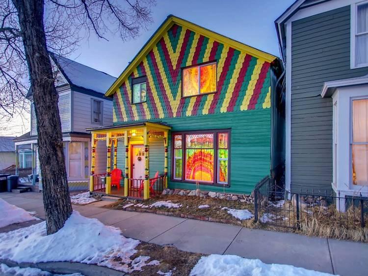 The happy hippy house   Leadville, CO