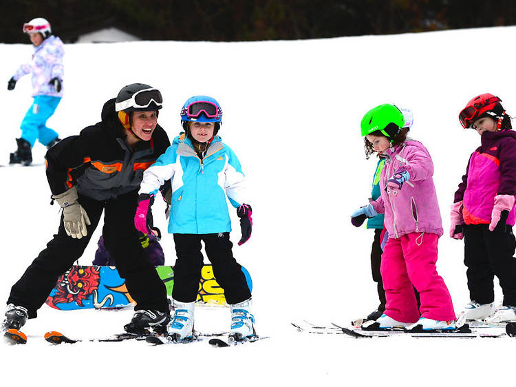 Best ski resorts near NYC for families and kids