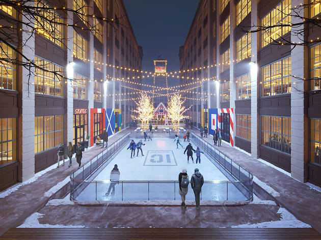 Exclusive: Industry City is unveiling their first-ever ice skating rink!