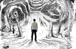 Oscar Oiwa, Dreams of a Sleeping World, rendering, 2019
