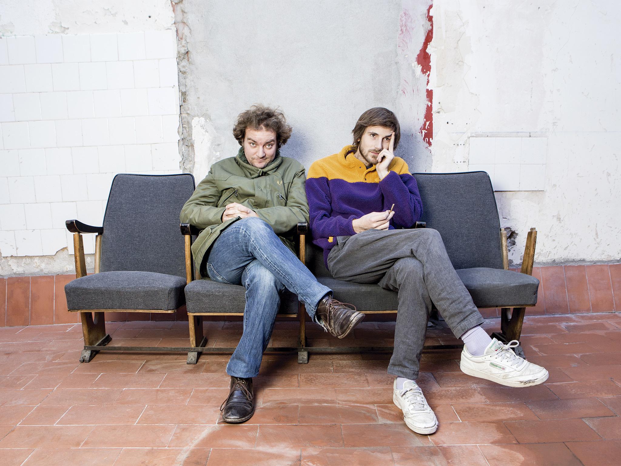 Nao Albet i Pol López fan 'Esperant Godot'