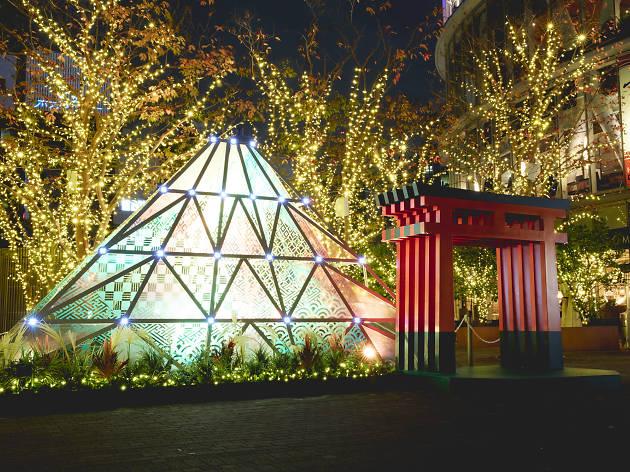 Tokyo Dome City Winter Illuminations