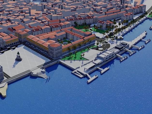 O novo Cais de Lisboa