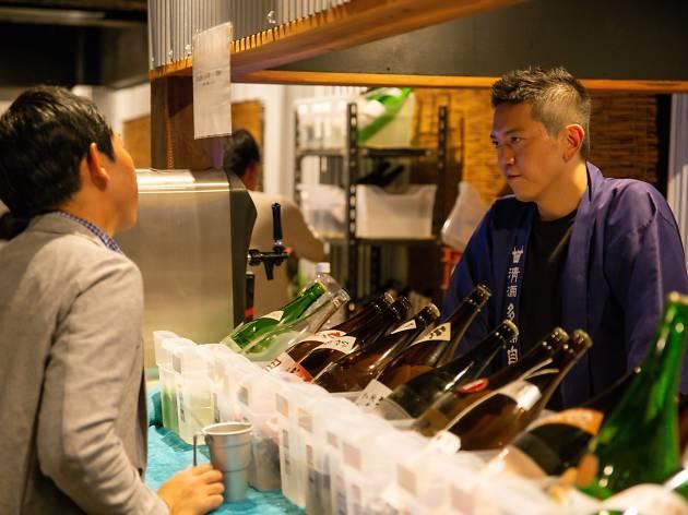 酒フェスのお肉のお寿司と本当に美味しい日本酒イベント