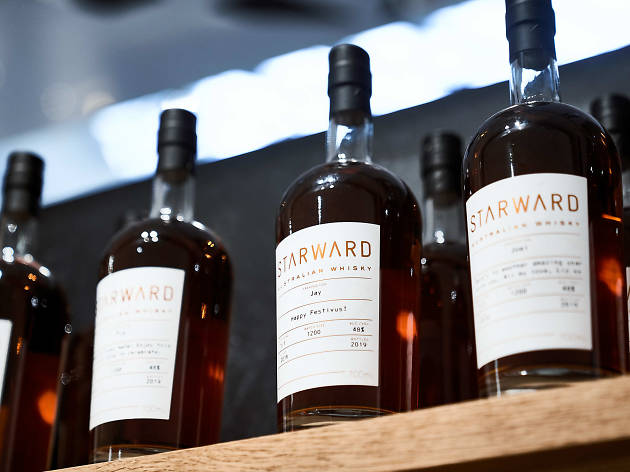A Starward Whisky pop-up is now open in Melbourne's CBD