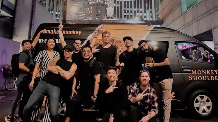 Monkey Shoulder Mixing Bar Tour