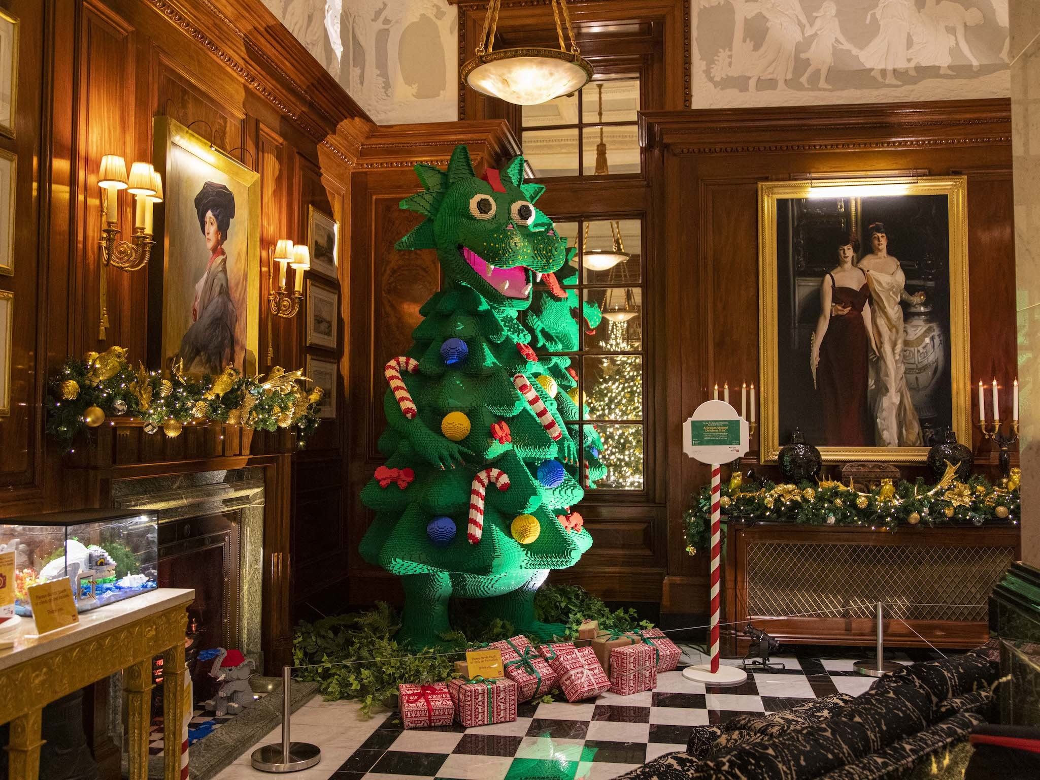 LEGO Christmas at the Savoy