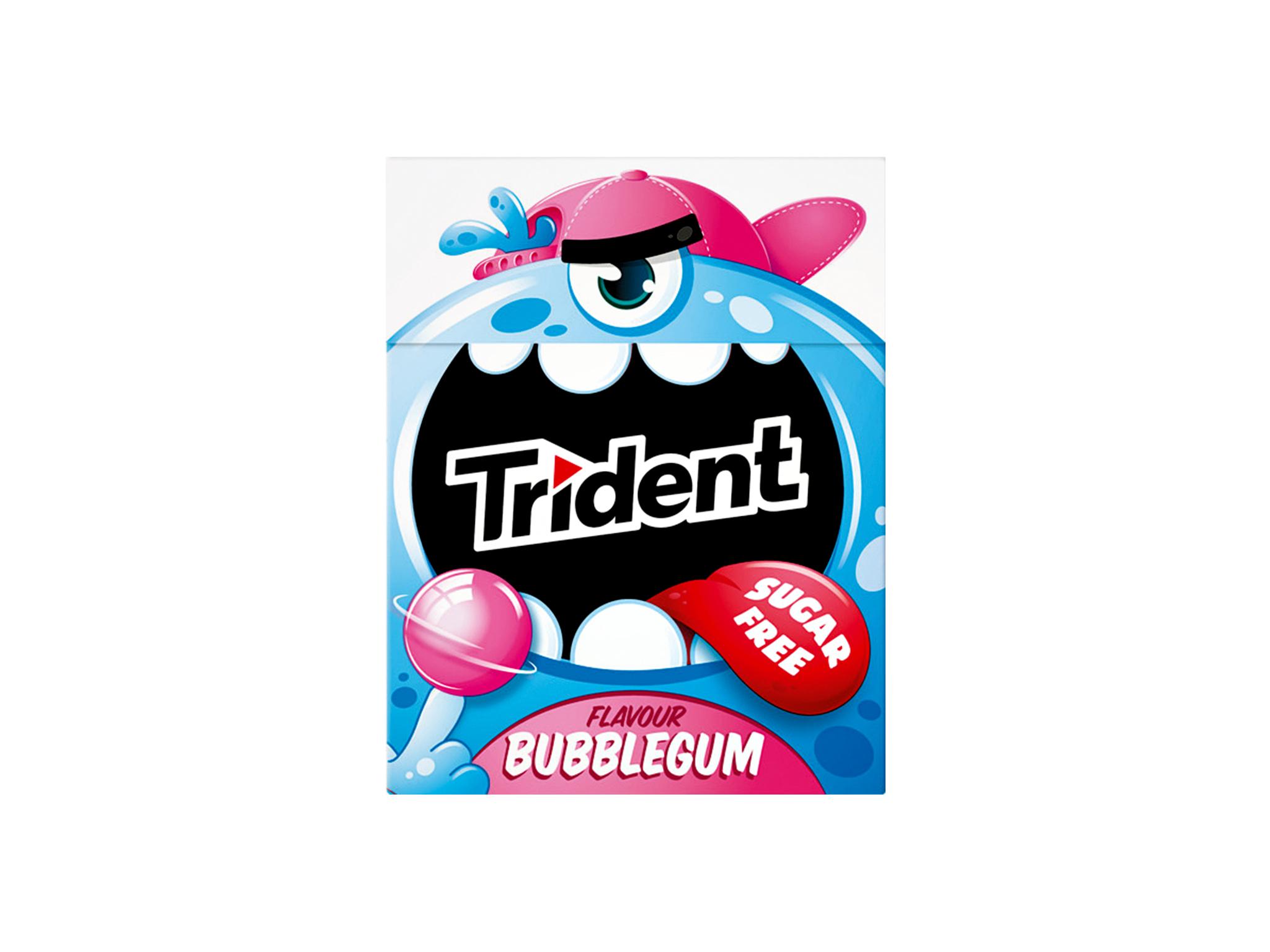 Trident Monster Bubblegum