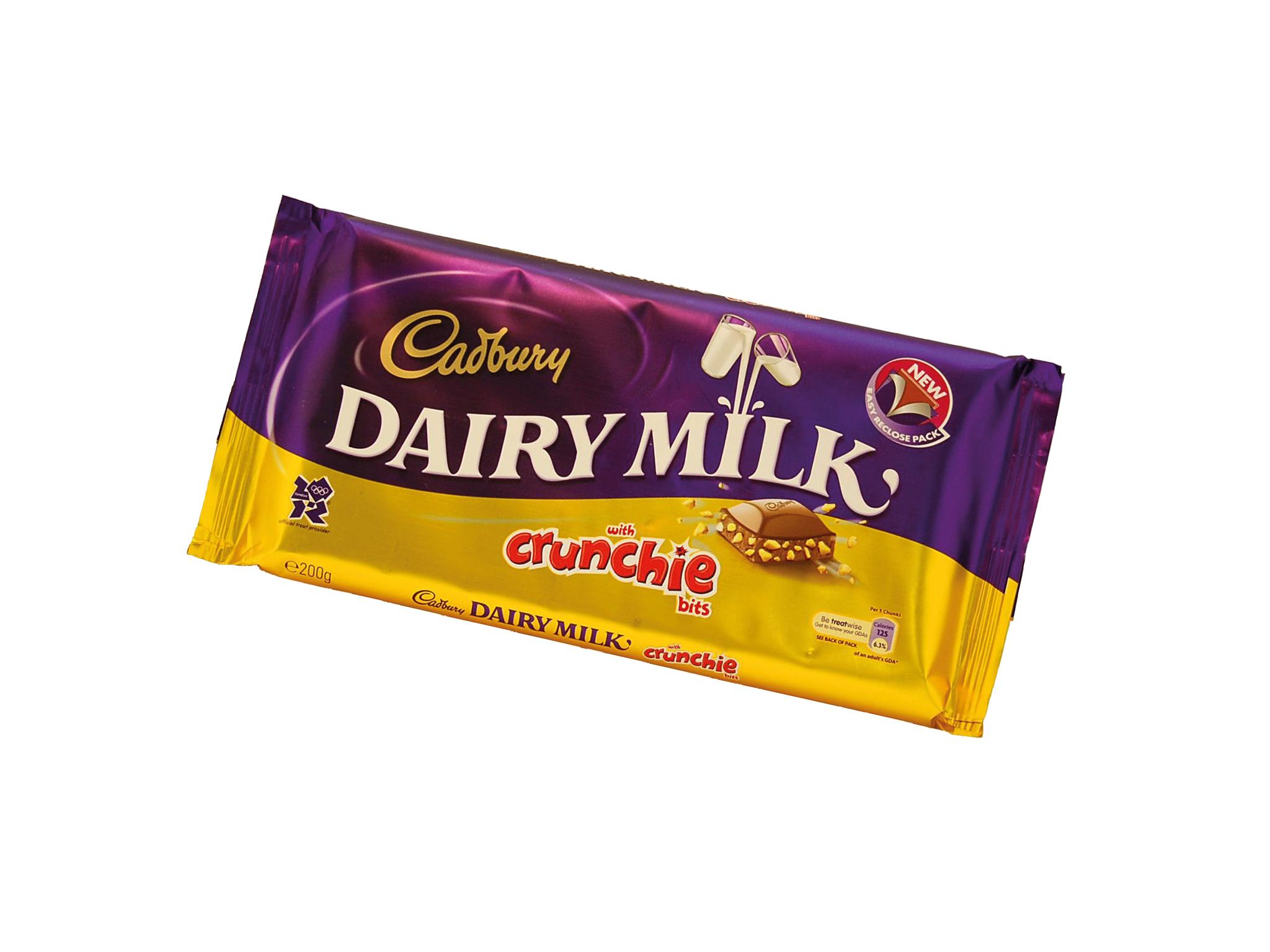 Dairy Milk Crunchie