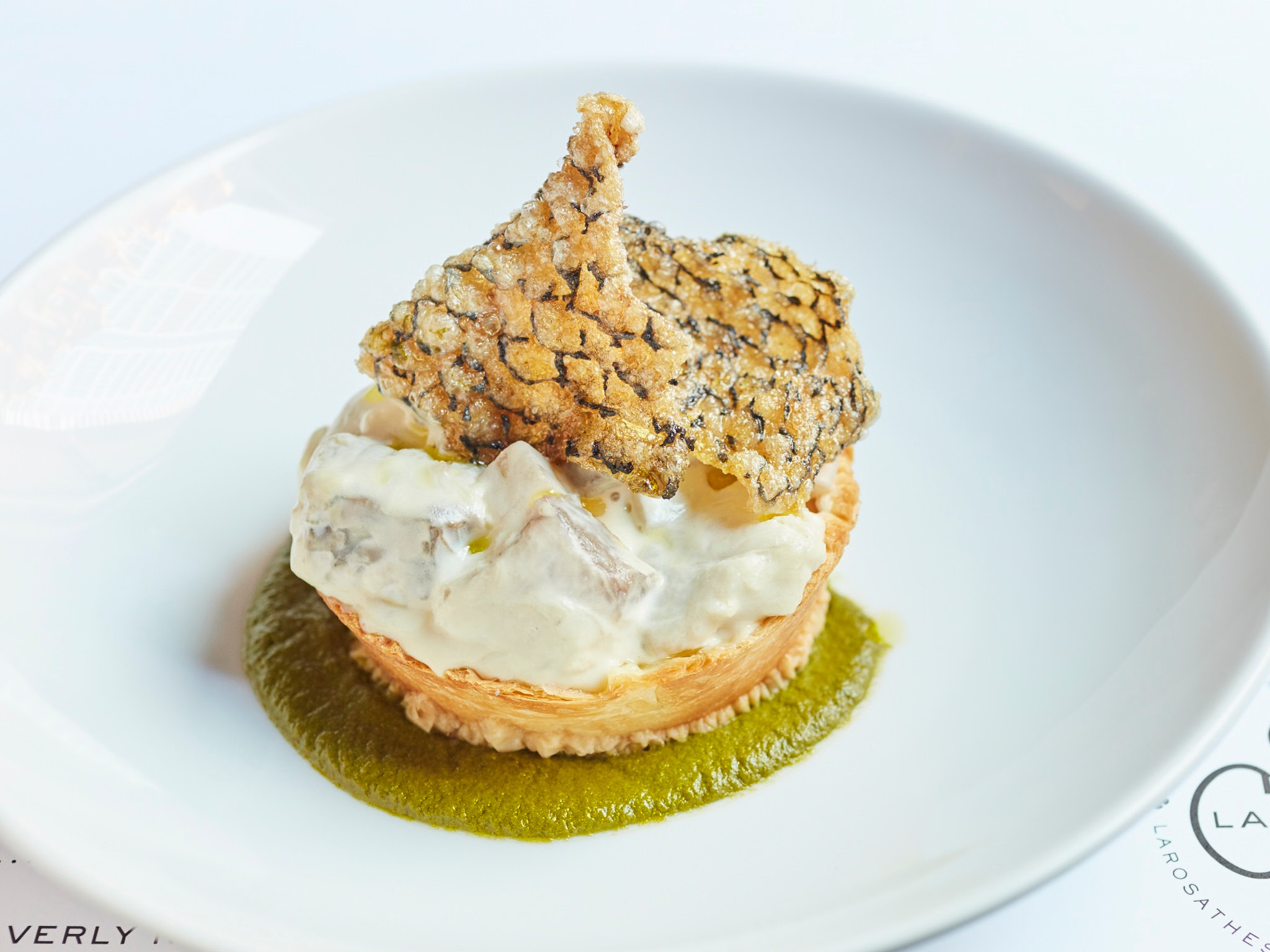 La Rosa's fish pie.