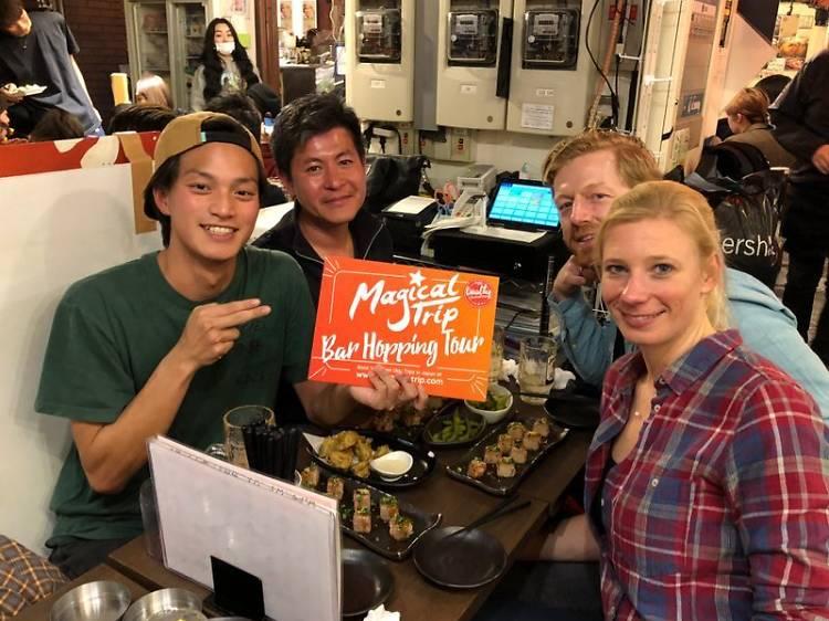 Shibuya Bar Hopping Night Tour