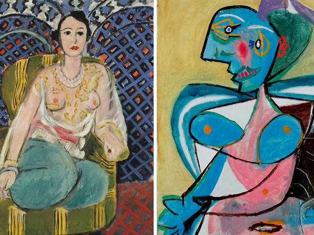 Matisse & Picasso National Gallery of Australia 2019 supplied