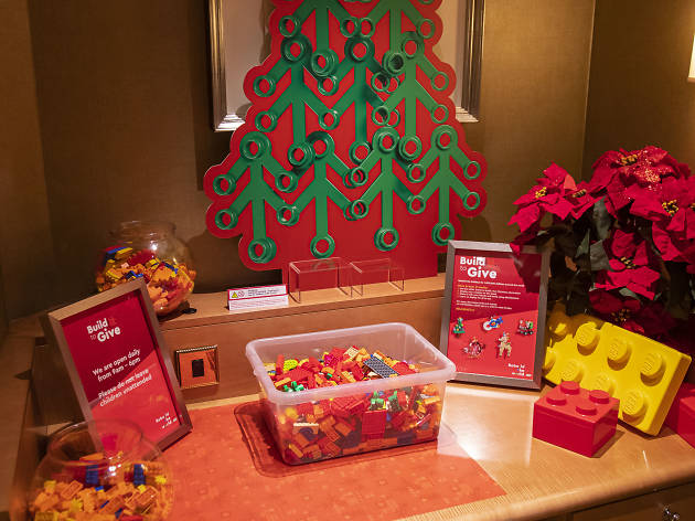 Win a family stay in The Savoy Hotel's LEGO Santa Suite