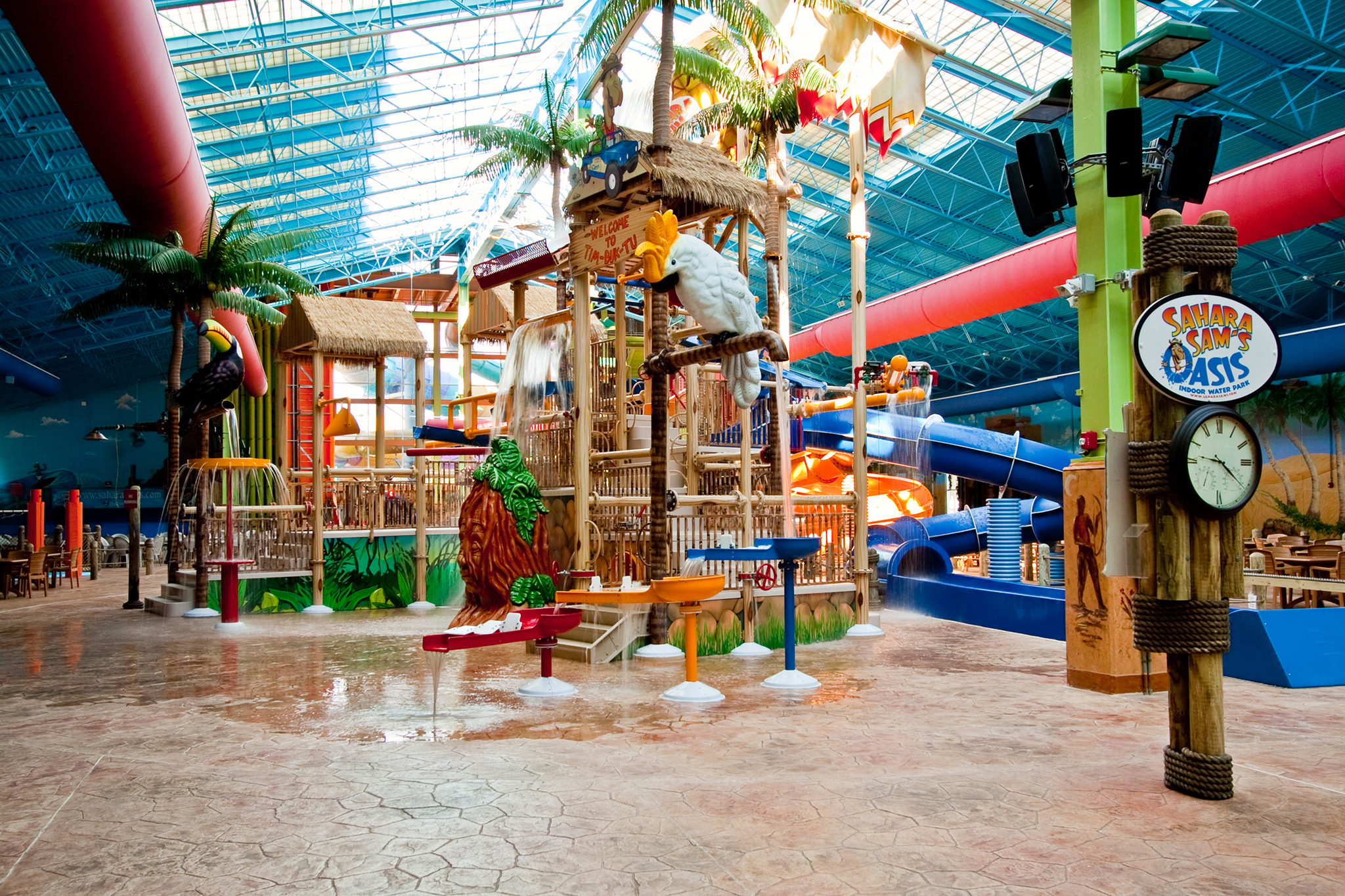 Indoor water parks to visit all year long