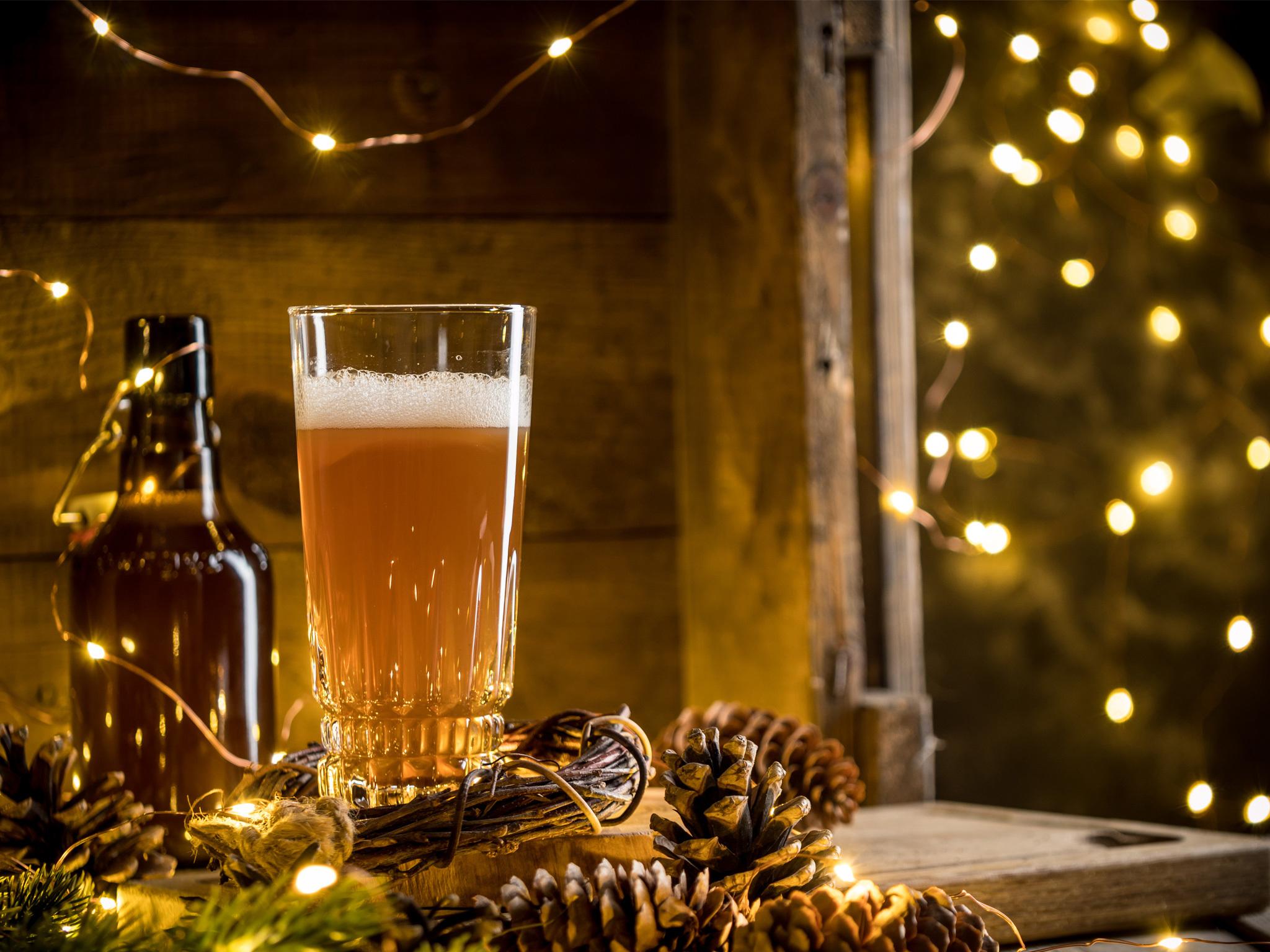 Cervezas artesanales mexicanas para la temporada navideña