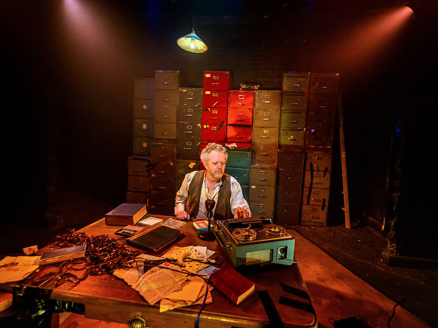 Krapp's Last Tape Red Line Productions 2019 supplied