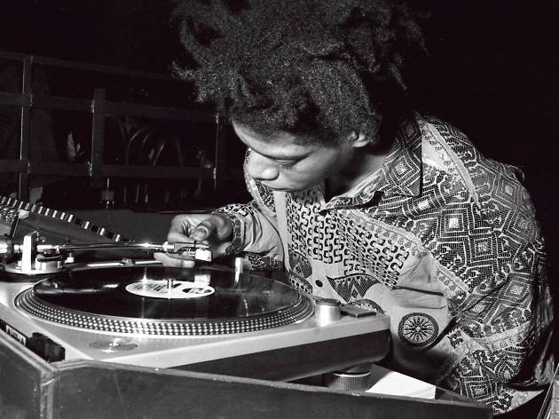 Jean-Michel Basquiat DJing