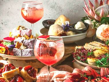 Pink Gin Afternoon Tea Buffet