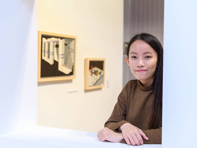 YTP 2019 - Lim Jia Qi with her art works