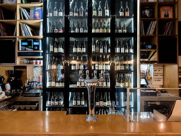 Catch a DJ set at chic wine bar Montezuma