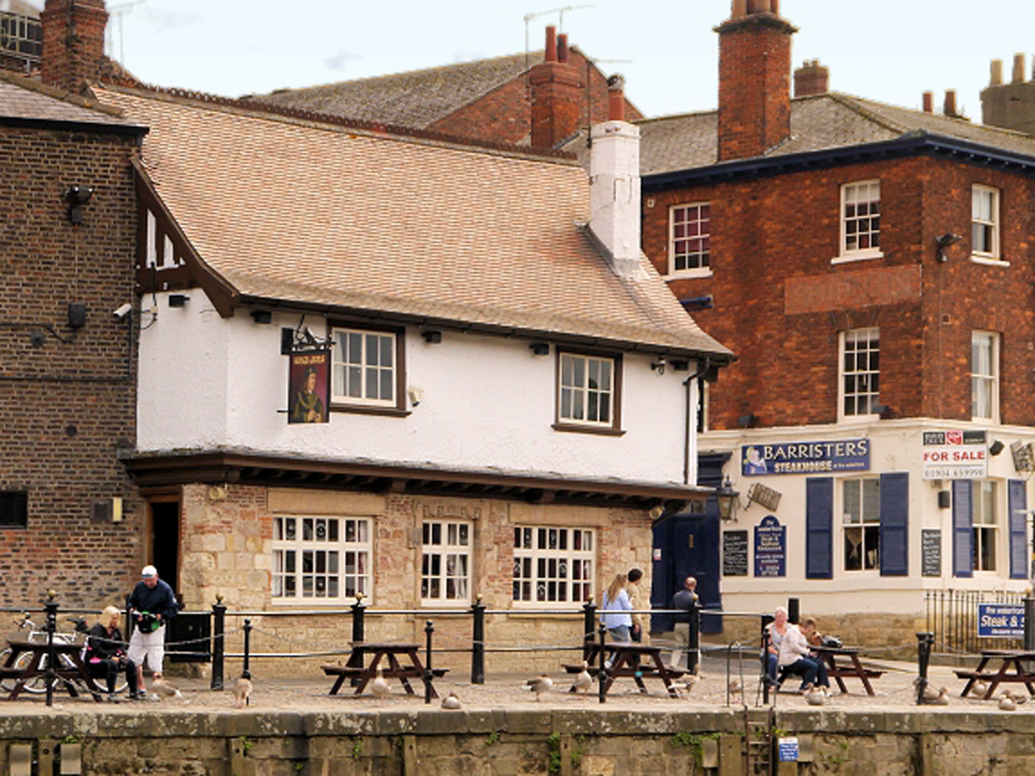 The Kings Arms pub in York