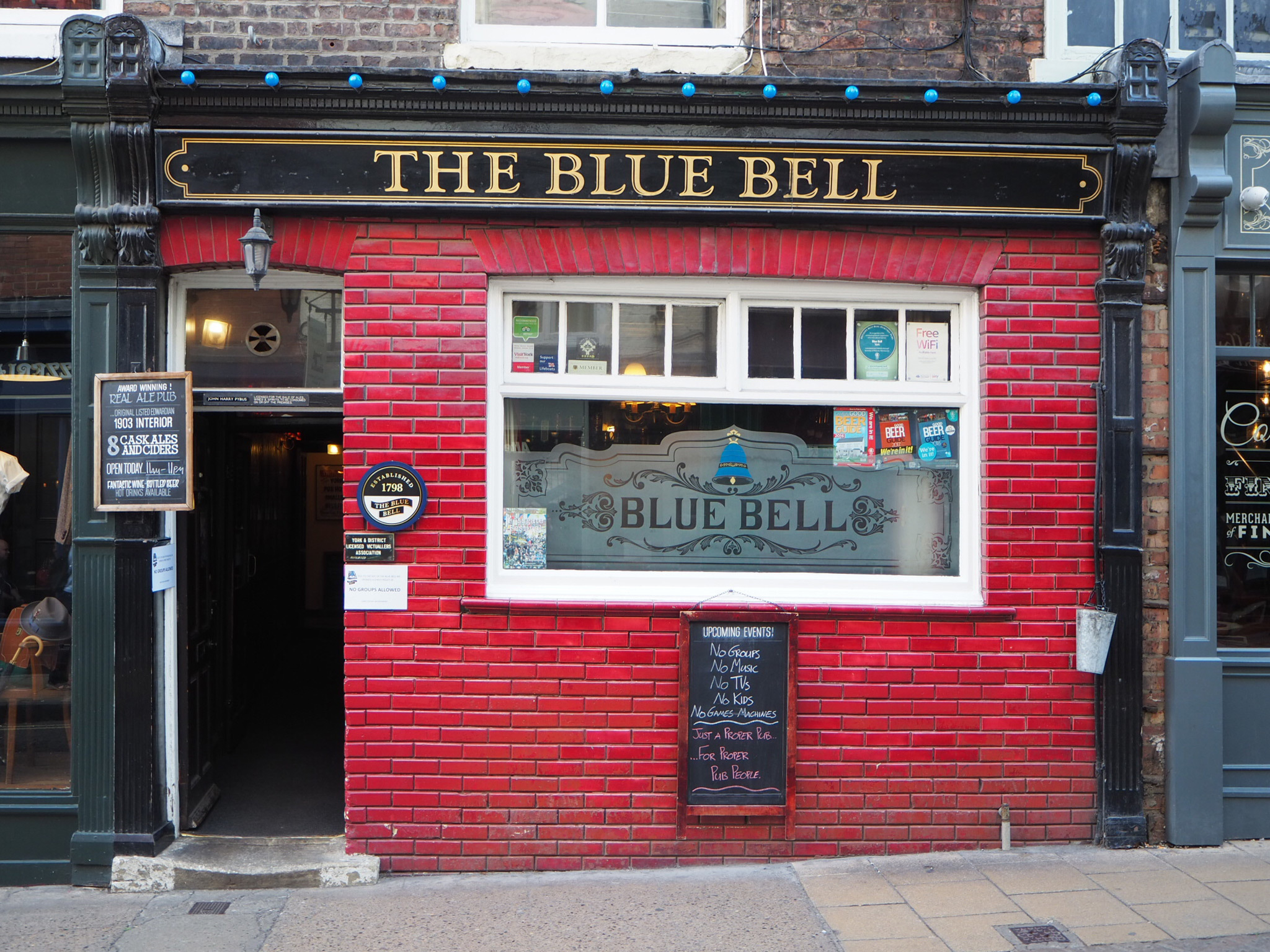 The Blue Bell in York
