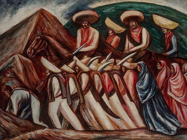 Zapata (Foto: Cortesía Museo del Palacio de Bellas Artes)