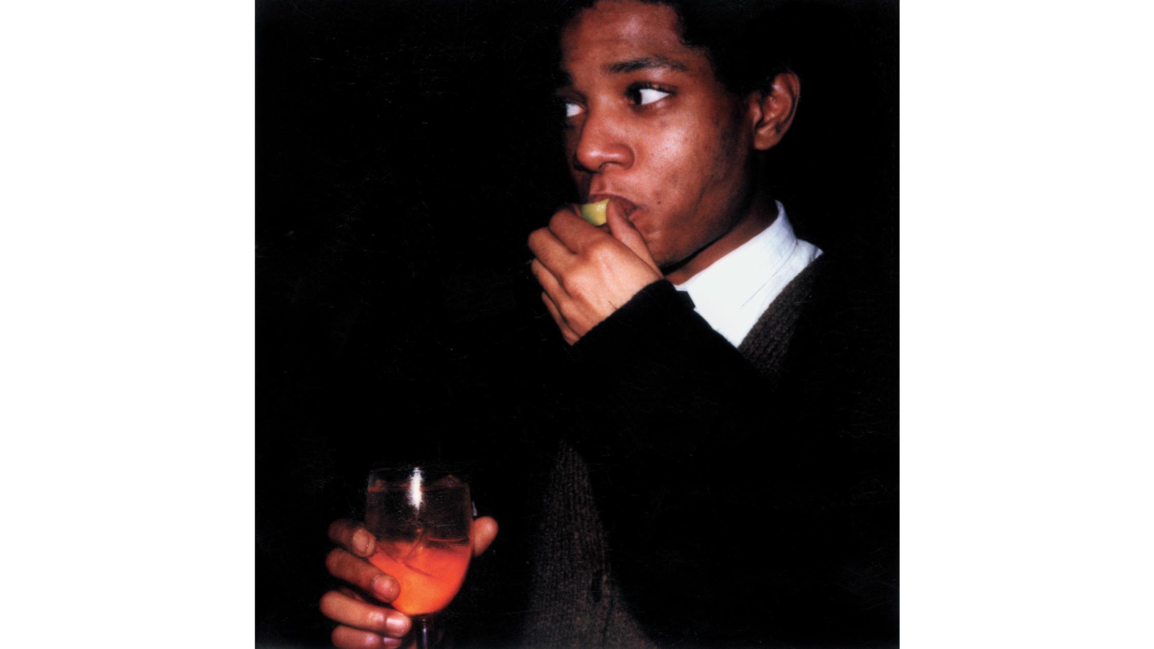 Basquiat-Haring NGV 2019 supplied. Credit: Maripol