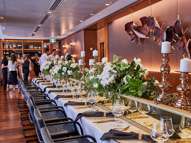 The private dining room at Aria