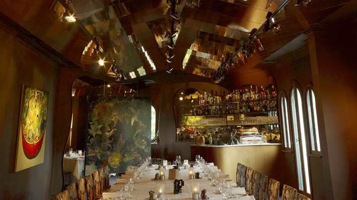 The private dining room at Buon Ricordo