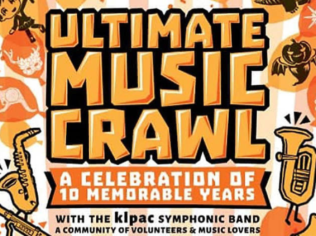 Ultimate Music Crawl with the klpac Symphonic Band