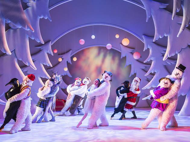 Set-Up shots showing The Snowman @ Birmingham Rep Theatre.(Taken 12-01-17)©Tristram Kenton 01/17(3 Raveley Street, LONDON NW5 2HX TEL 0207 267 5550  Mob 07973 617 355)email: tristram@tristramkenton.com