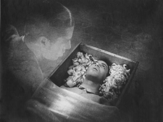 A still from the 1932 film Vampyr