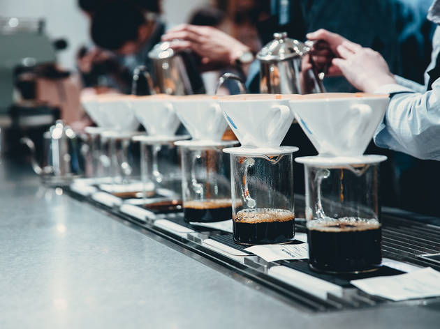 57% off a luxury coffee-tasting experience