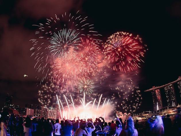 The best New Year's Eve parties in Singapore