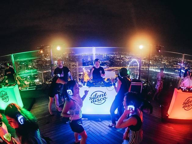 Silent Disco Asia @ Marina Bay Singapore Countdown 2020