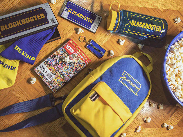 Relive the 90s at this Blockbuster pop-up in Soho