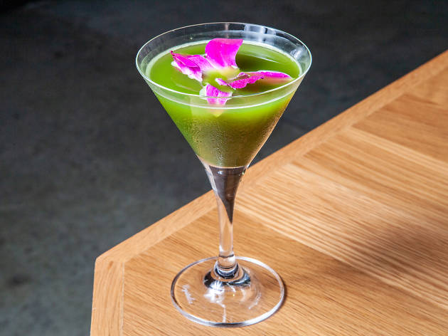 Food Envy: Time Out Market New York's Matcha-Tini