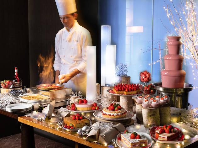 Strawberry Afternoon Tea at Grand Hyatt Tokyo