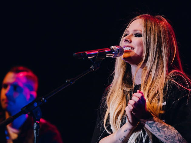 Punk rock princess Avril Lavigne is coming to Hong Kong!
