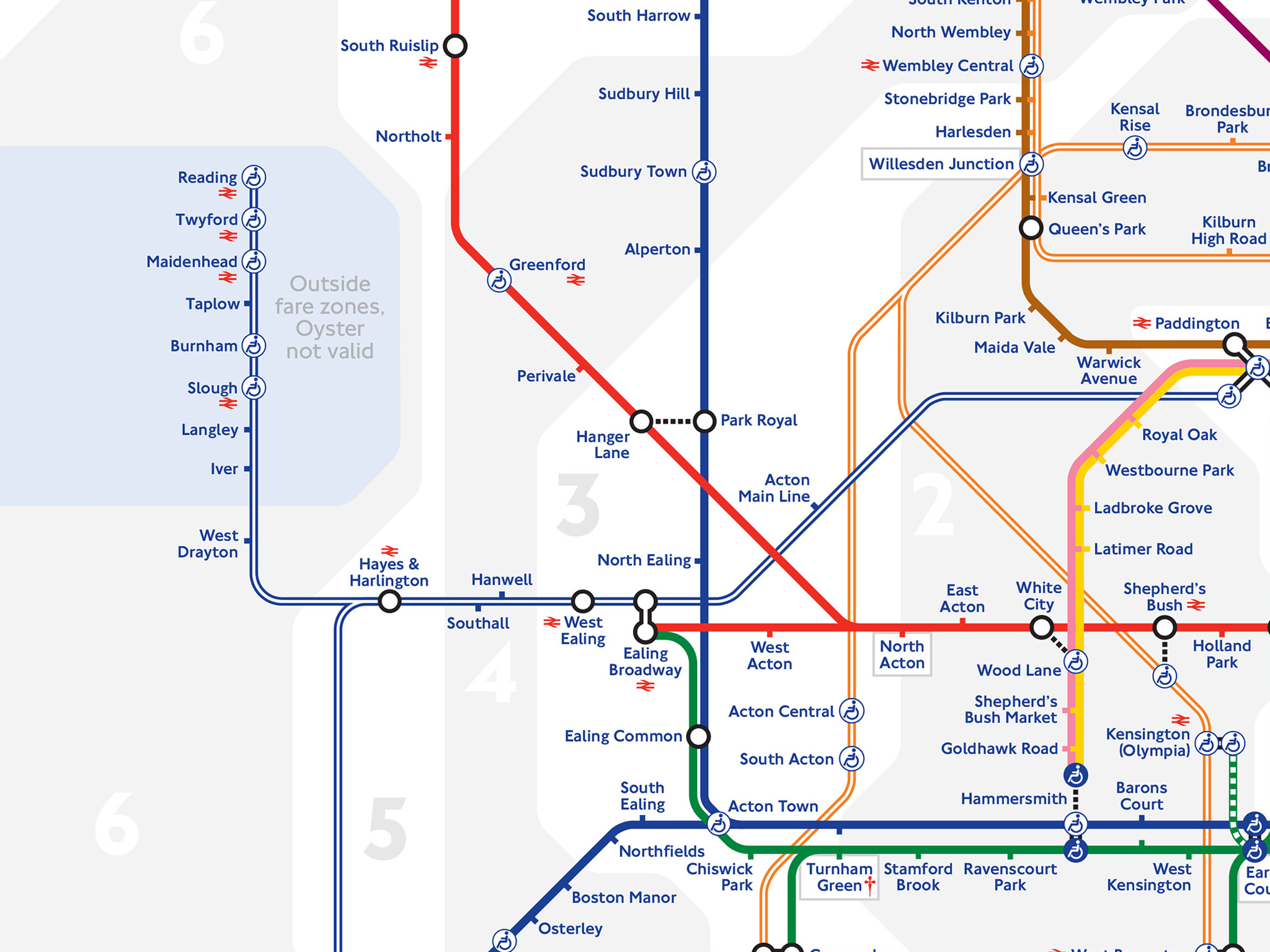 There's a brand new London tube map – and it's got Reading on it