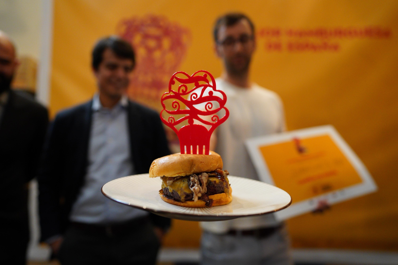 La ganadora del I Campeonato de España de Hamburguesas se sirve en Madrid