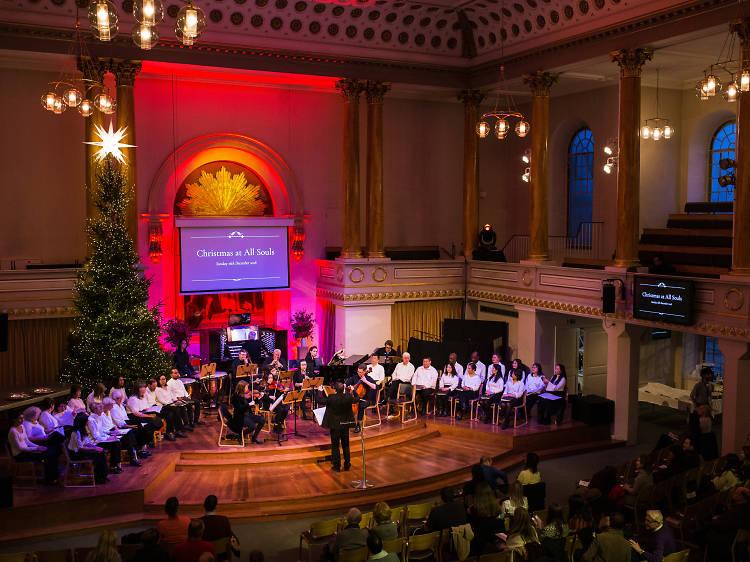 All Souls Christmas Carols and Orchestra
