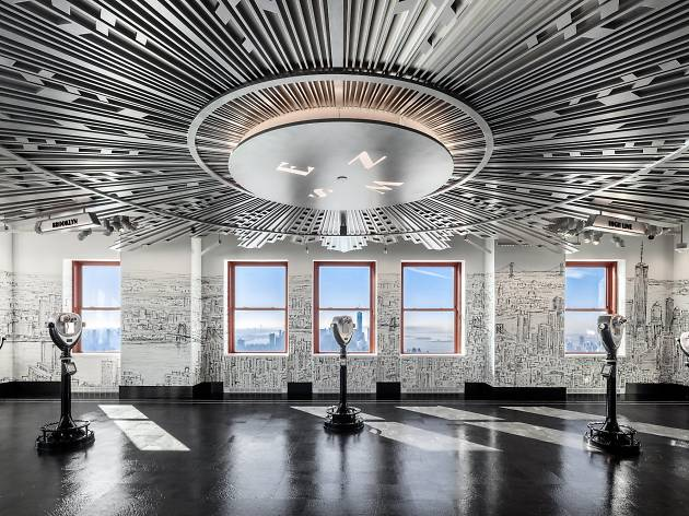 Empire State Building opens new 80th-floor observatory