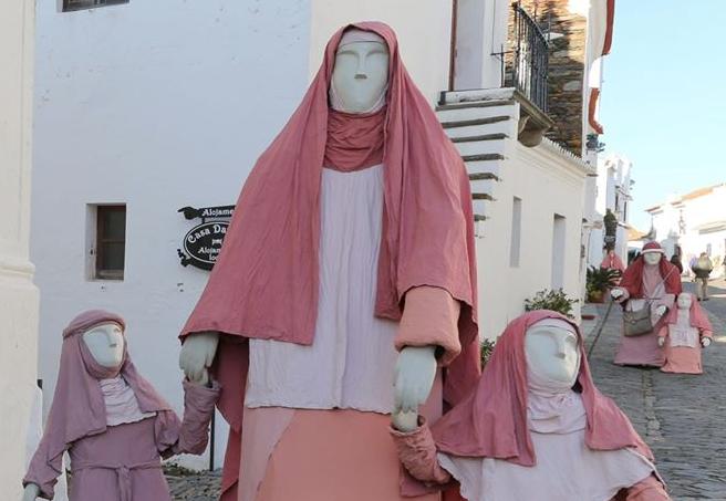 Presépio de Rua em Reguengos de Monsaraz