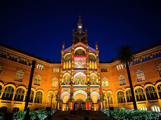 Nadal al Recinte Modernista de Sant Pau
