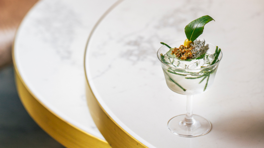 Green Ant Martini at Observatory Bar