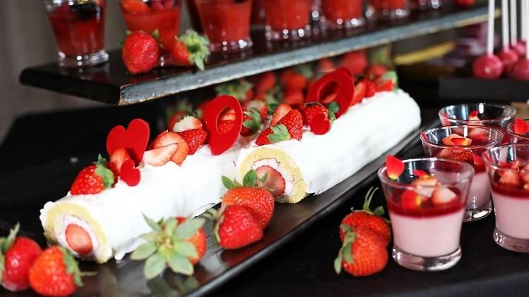 XEX Strawberry Buffet