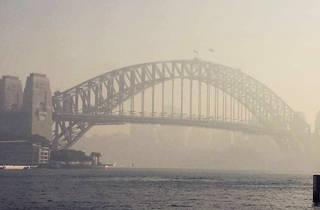 Smokey Sydney Harbour Bridge